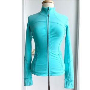Lululemon Define jacket too light turquoise size 4